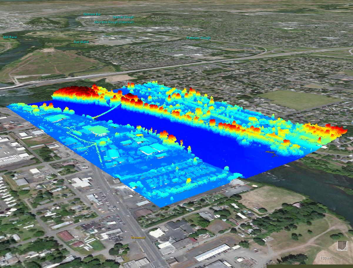Working with Lidar data in WW - The NASA World Wind Forum